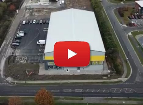 GoStore Aerial Shot - Fencing in York - Press Play